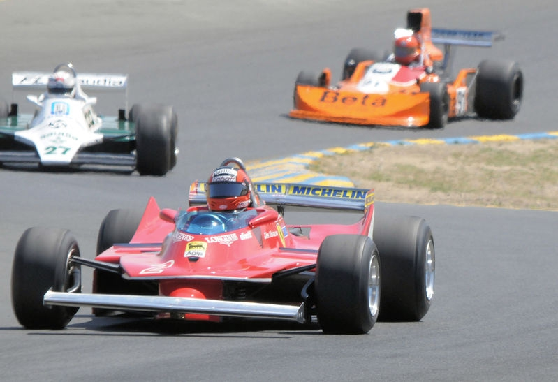 August 2009, Historic Grand Prix Cars, Turn 3