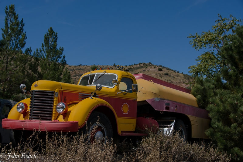 Shell Truck at Gold King Mine