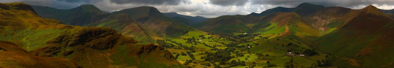 West view from Catbells