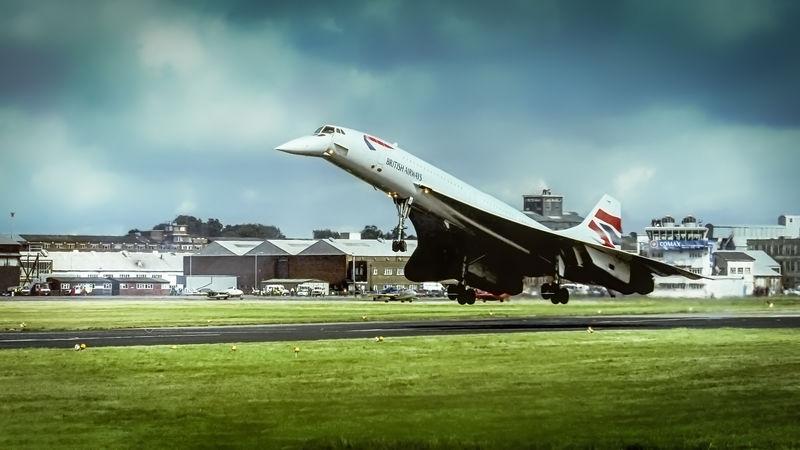 Concorde - Farnborough Air Show
