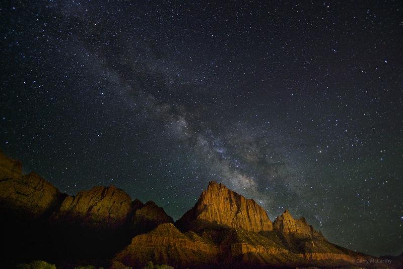 Milky Way over the Watchman
