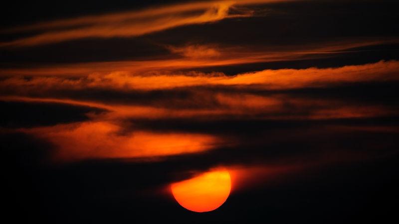 Sunset at Belize City