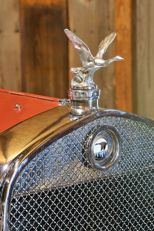 Mallard Hood Ornament and Grill