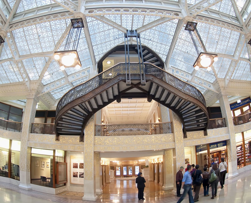 The Rookery building    / chicago walking tour