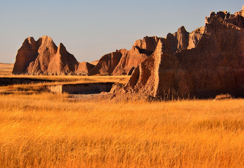 ANPAT 5 - Badlands at Sunse