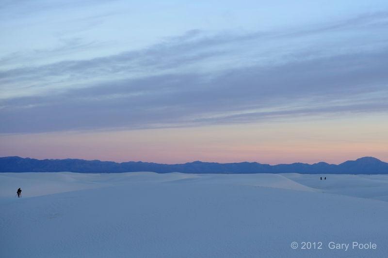 White Sands at Sunrise