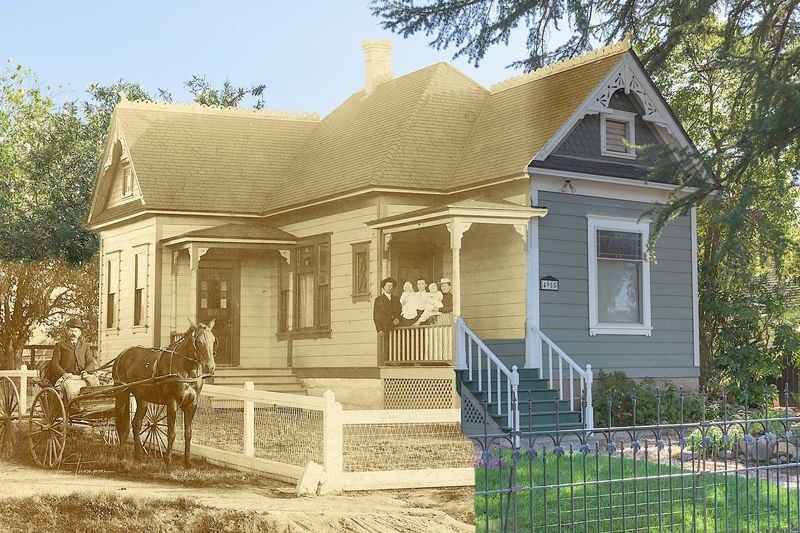 A Rocklin House - Then and Now