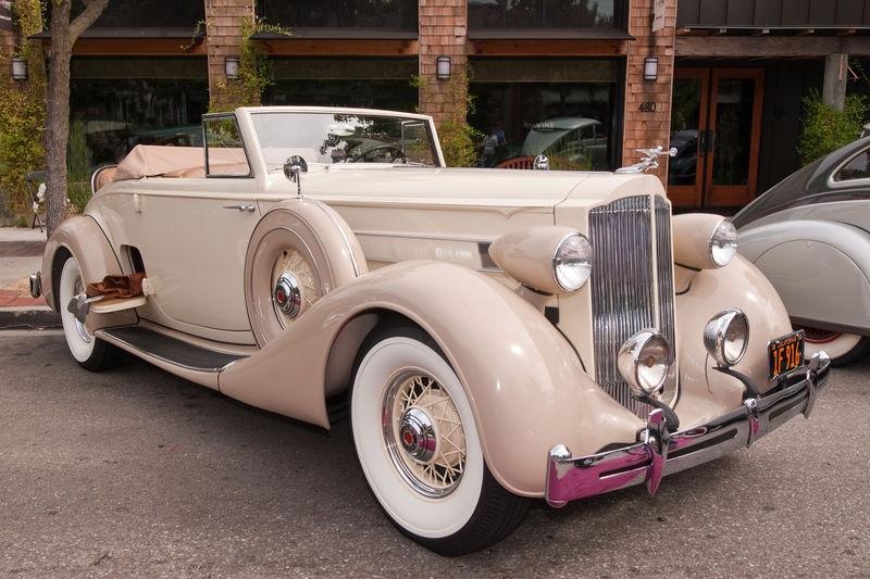 Danville Concours D'Elegance, Packard Roadster w/Rumble Seat