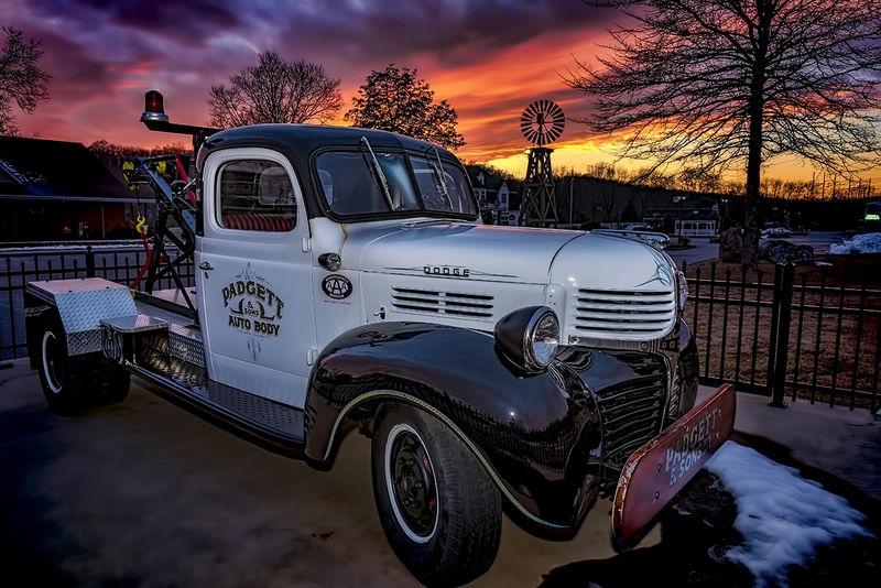 Old Truck in Oakdale