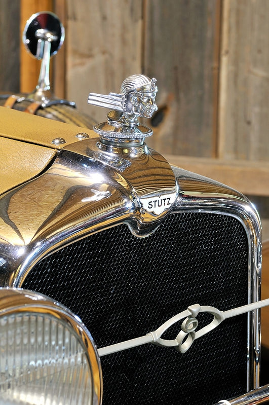 Stutz Hood Ornament and Grill