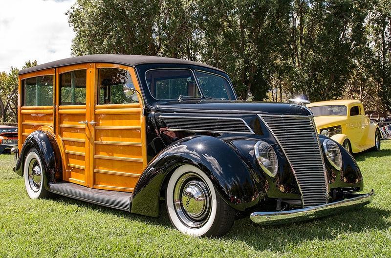 "Classic Ford ""Woody"" at Good Guys Car Show, Pleasanton"
