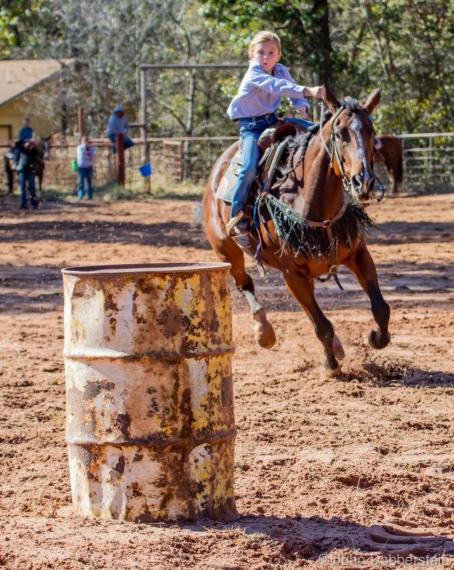 Barrel racing photos