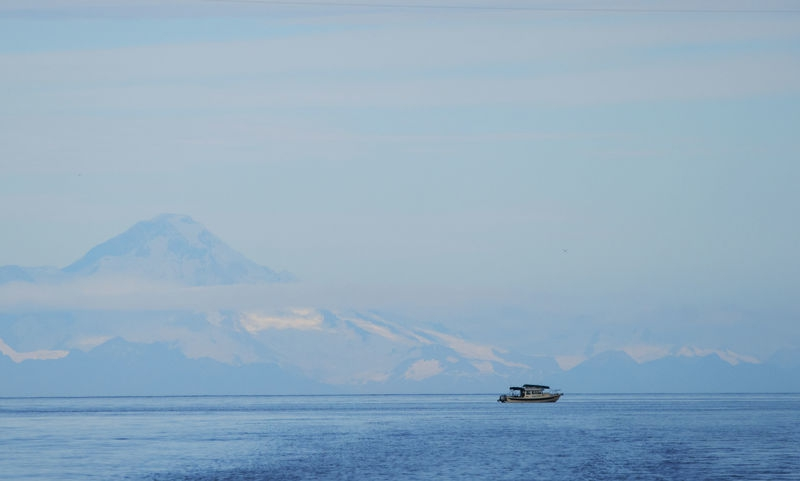 Fishing Boat at Tutka Bay, AK