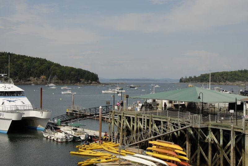 Harbor at Bar Harbor, Maine