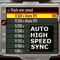 Auto FP High Speed Sync Explained