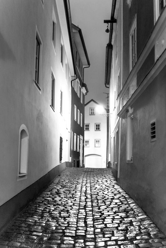Alley in Austria