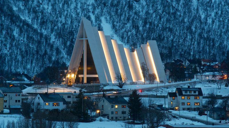 Arctic Cathedral - Trpmso Norway