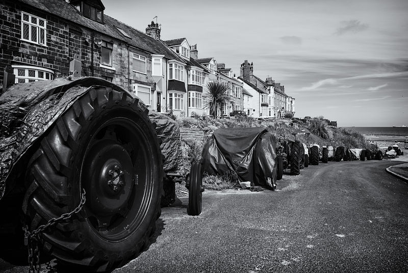 Tractors & Fishing cobbles.