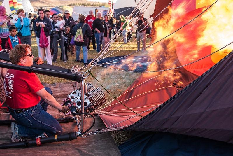 Light the Burner Cans, Reno Balloon Festival