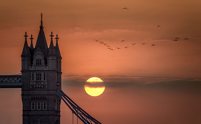 Tower of London Sun Up!