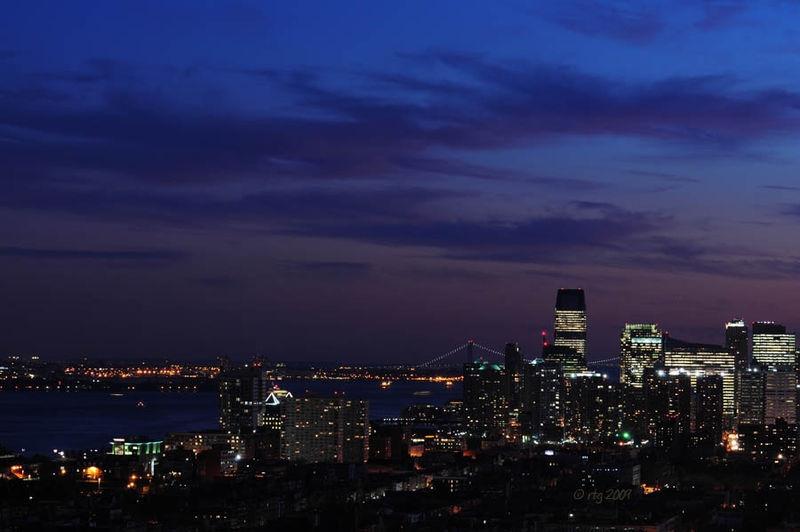 Twilight Sky-Lower Hudson River