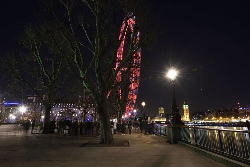 London City - Night lights