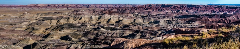 Little Painted Desert Panorama