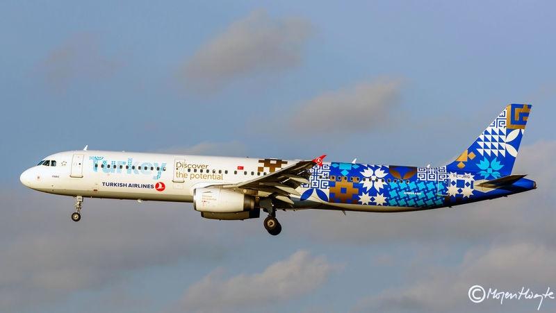 Turkish Airlines, Airbus A321-231, TC-JRG, Copenhagen Airport.