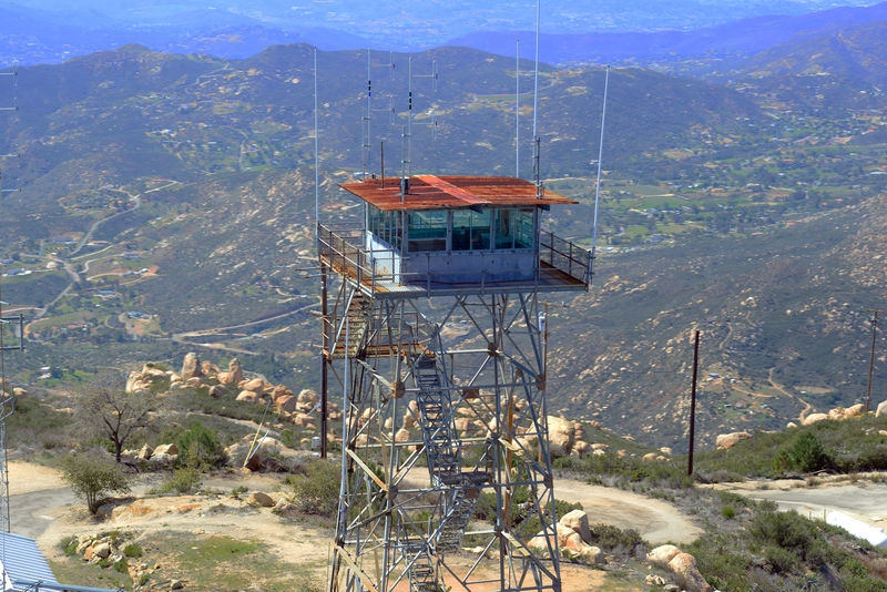 Old fire lookout tower