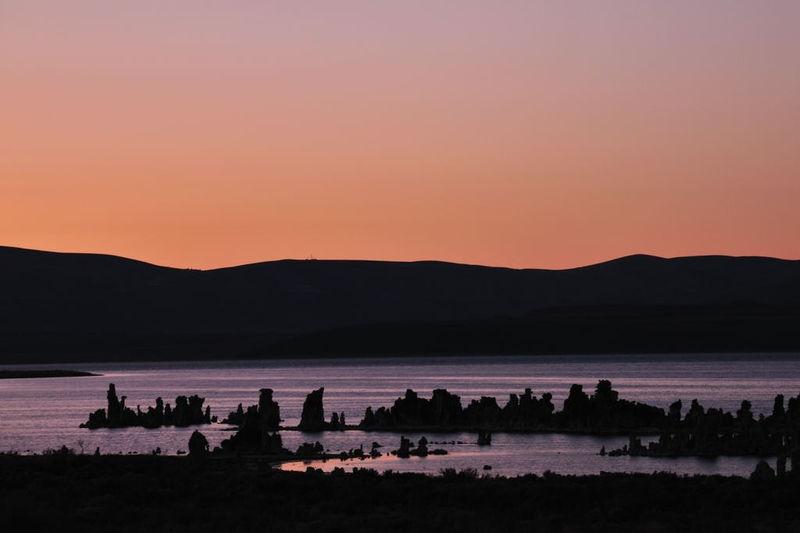 Sunset Mono Lake South Tufa