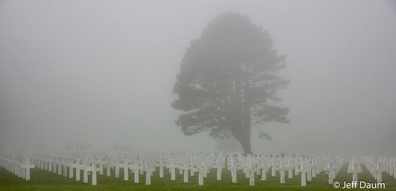 Normandy in a Shroud of Fog