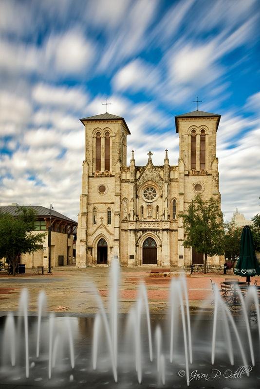 Morning at San Fernando Cathedral