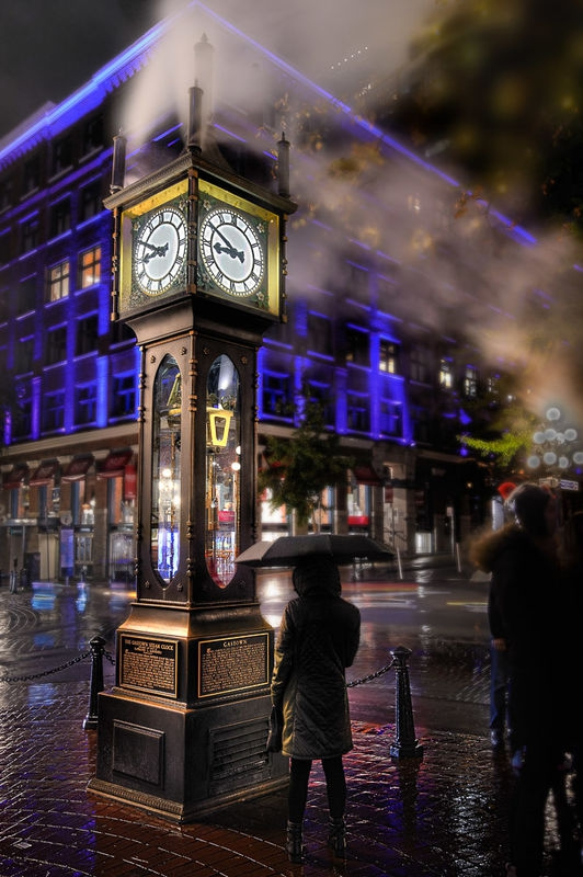 Steam Clock - Vancouver, Canada