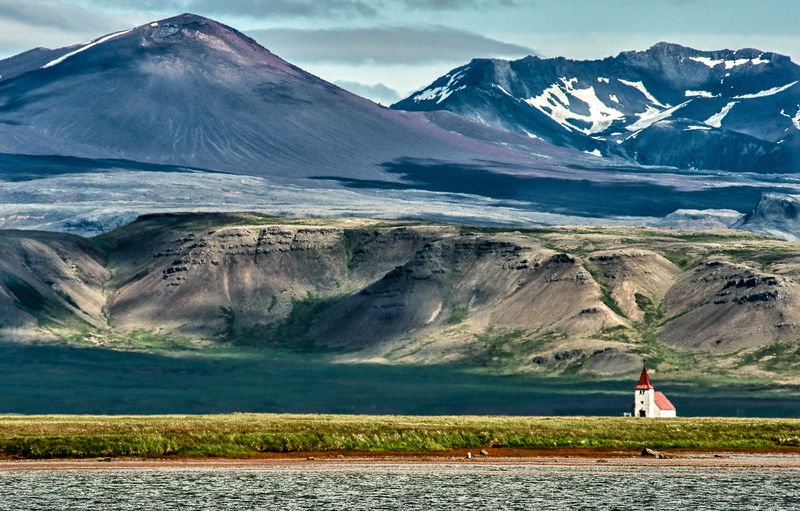 Tiny Church, Snaefellsness Peninsula