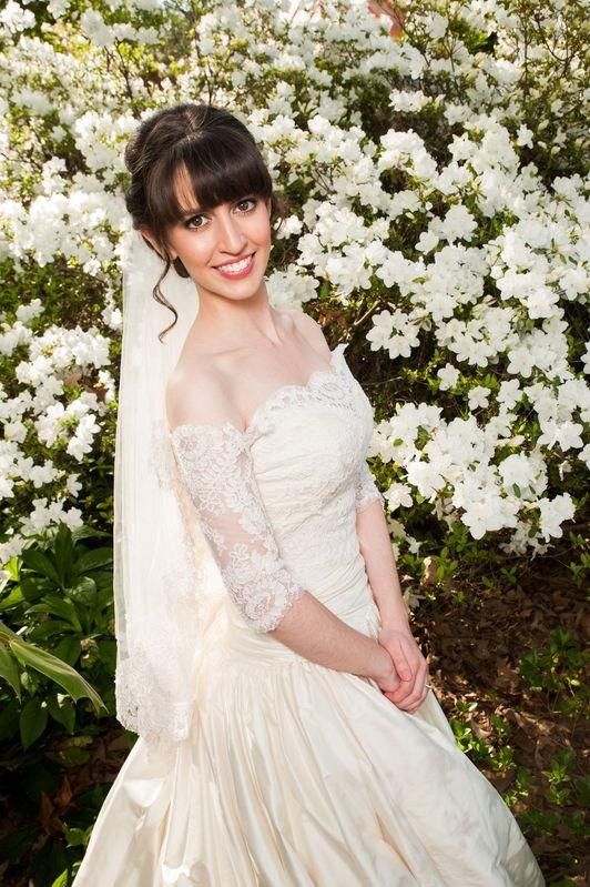 Bridal Portrait in Spring