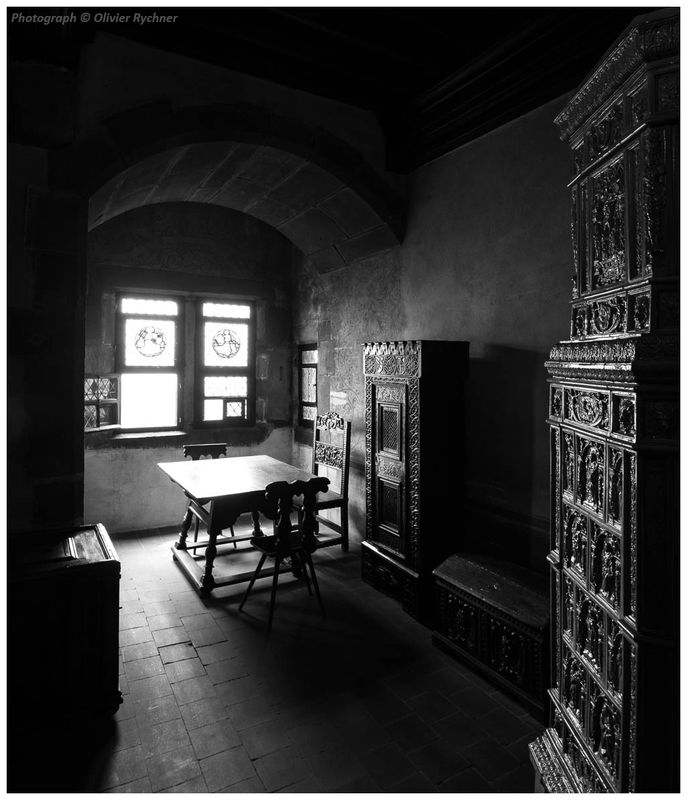 High Contrast - Room in a Castle