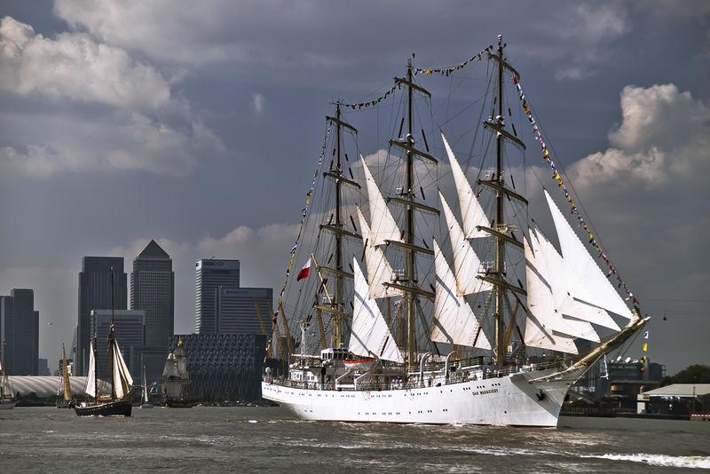 River Thames Ship