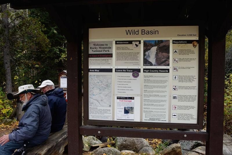 Gary & Carl at Wild Basin