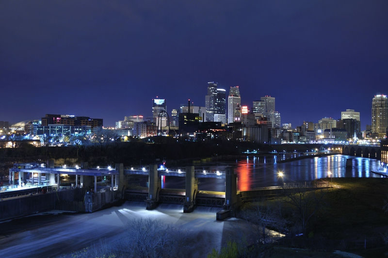 Minneapolis City Scape 1
