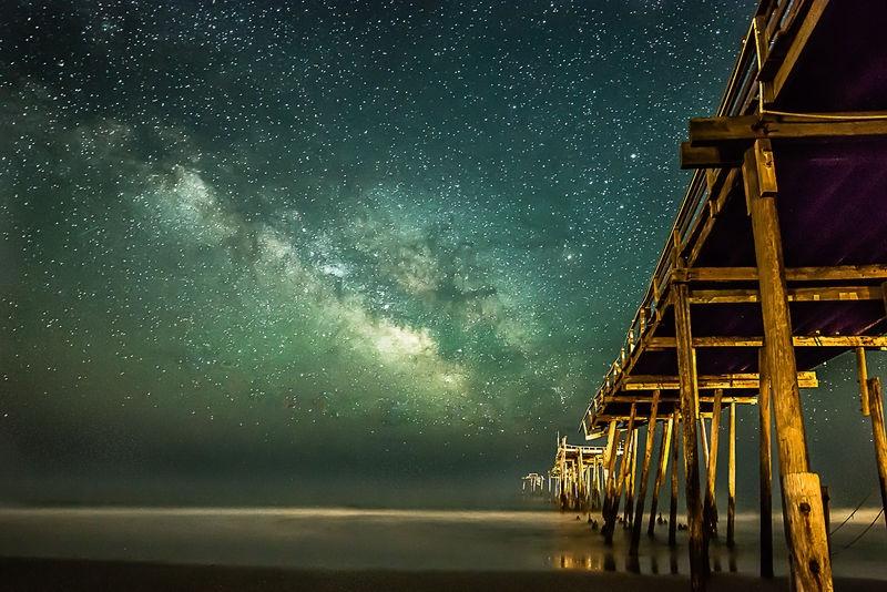 Milky Way at Fresco Pier