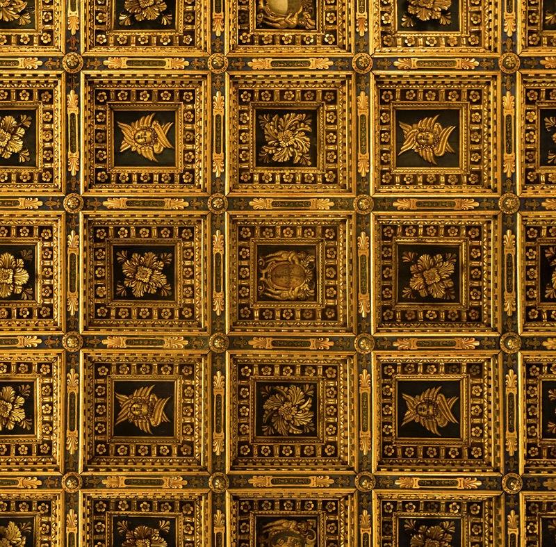 Ceiling in Duomo