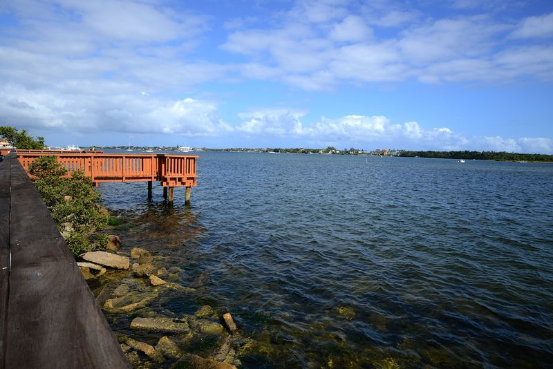 Intracoastal Waterway Fishing Dock