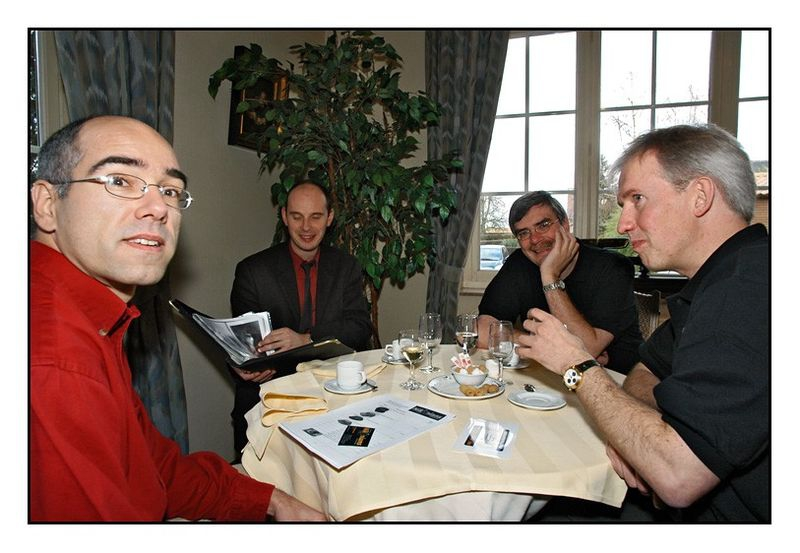 Pascal, Maarten, LucVN and Bo