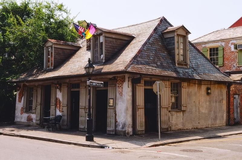 Lafitte's Blacksmith Shop on Bourbon St.