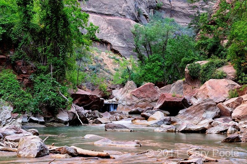 Falls on Virgin River