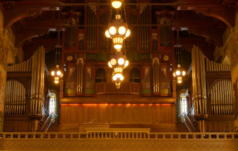 Stanford University Chapel, Organ Loft