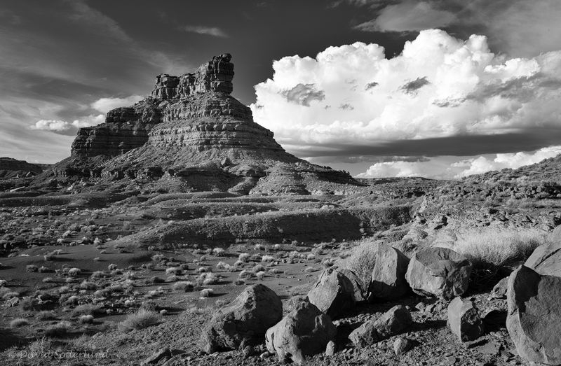 Valley of the Gods - B&W