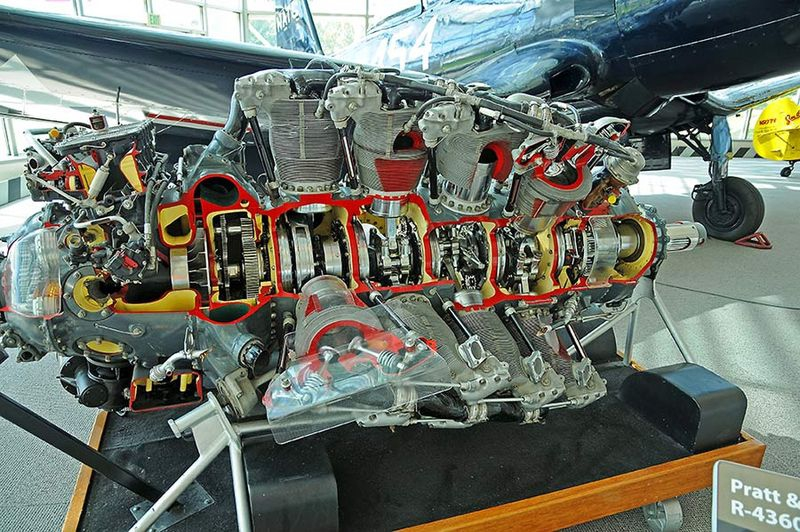 Pratt & Whitney-R-4360-Wasp Major