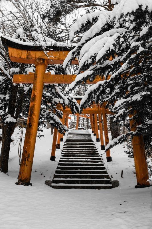 First Snow Takeyama