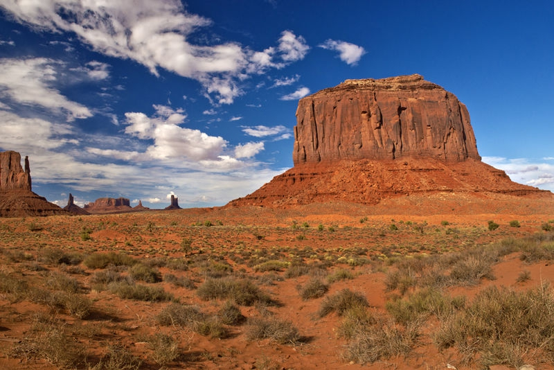 The Iconic View of Monument Valley